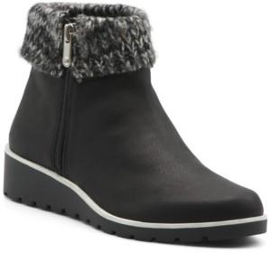 Adrienne Vittadini Trapeza Women's Booties Women's Shoes