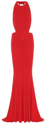Alexandre Vauthier Stretch-crApe maxi dress
