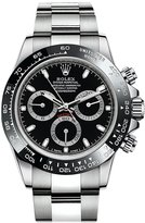 Rolex Cosmograph Daytona Dial Stainless Steel Oyster Men's Watch 116500