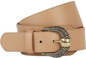 MAISON BOINET Western Leather Corset Belt