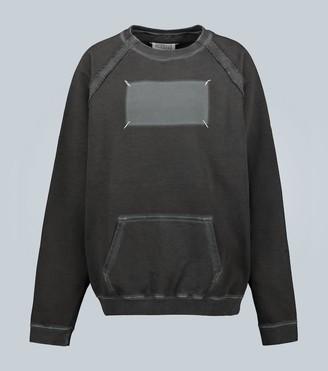 Maison Margiela Memory Of label oversized sweatshirt