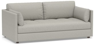 Pottery Barn Tufted Storage Upholstered Daybed Sleeper