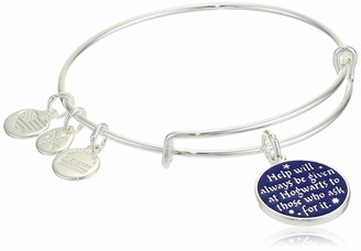 Alex and Ani Replenishment 19 Women's Harry Potter Help Will Always Be Given Charm Bangle