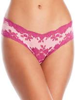 Cosabella Italia Low Rise Lace Trim Thong