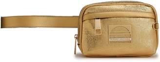 Marc Jacobs Embellished Metallic Cracked-leather Belt Bag
