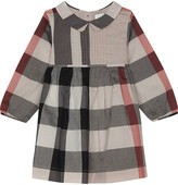 Burberry Liz pleated cotton dress 6-36 months