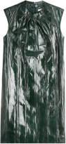Nina Ricci Snake Leather Dress