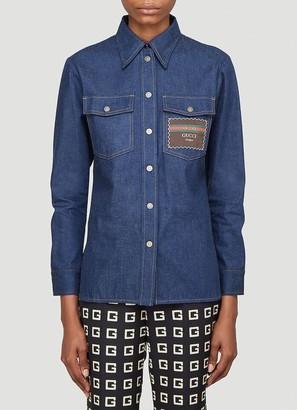 Gucci Boutique Denim Shirt