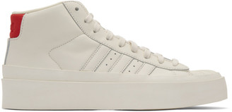 424 Off-White adidas Edition Pro Model 80s High-Top Sneakers
