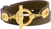 Henri Bendel Signature Monogram Wrap Bracelet