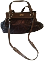 Chloé Purple Leather Handbag