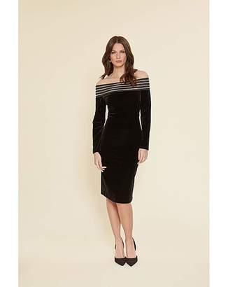 Gina Bacconi Adaira Off Shoulder Dress
