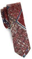Original Penguin Pershing Abstract Cotton Tie