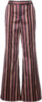 Zimmermann striped flared trousers