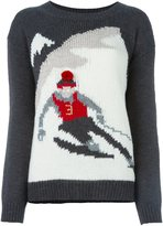 Woolrich ski pattern jumper - women - Acrylic/Alpaca/Virgin Wool - L