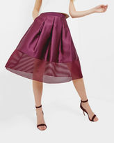 JURISA Mesh panel full skirt