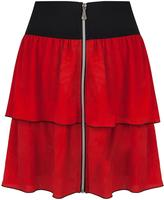 Wanderlust Red Skirt