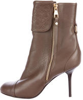 Louis Vuitton Monogram Empreinte Ankle Boots