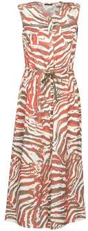 One Step RHODIA women's Long Dress in Multicolour