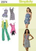 Simplicity Sewing Pattern 2374 Misses' Sportswear