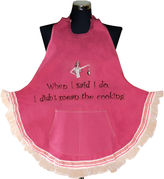 MANUAL WOODWORKERS AND WEAVER Women's When I Said I Do Apron