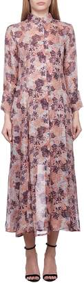IRO Floral Collared Dress