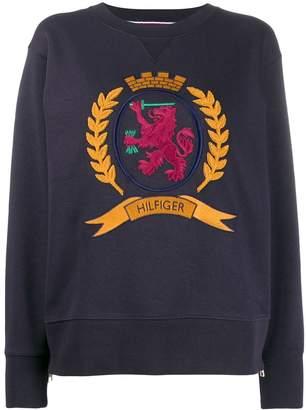 Tommy Hilfiger Side Zip Crest sweatshirt