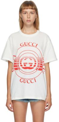 Gucci White Interlocking G T-Shirt