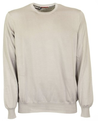 Fay Cotton Round Neck Jumper