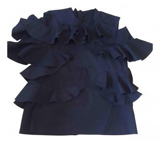 Maison Rabih Kayrouz Black Cotton Tops