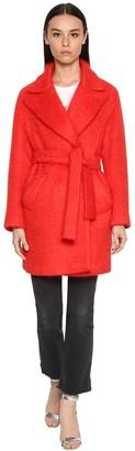 Giada Benincasa Mohair Blend Midi Coat