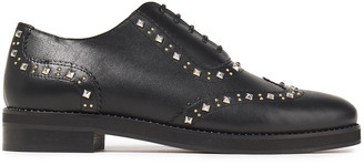 Claudie Pierlot Alexis Studded Leather Brogues