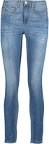Acne Studios Skin 5 mid-rise distressed skinny jeans