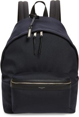 Saint Laurent Canvas Backpack