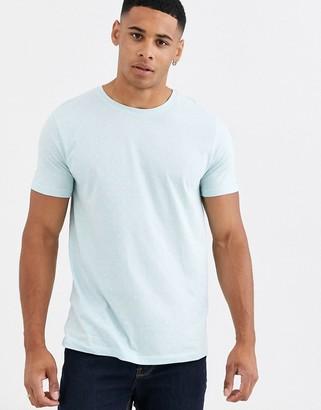 Esprit t-shirt with mini print in mint-Blue