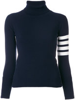 Thom Browne turtle neck sweater - women - Cashmere - 40