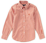Brooks Brothers Little/Big Boys 4-20 Gingham Button Front Shirt
