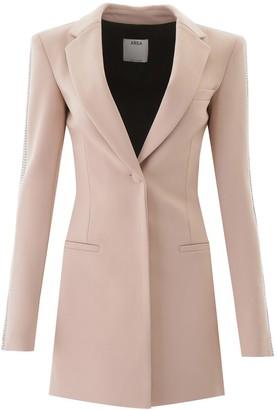 Area Deep V-Neck Blazer Dress