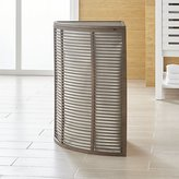Crate & Barrel Dixon Corner Hamper with Liner