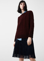 MANGO Velvet Sweater