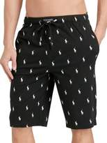 Polo Ralph Lauren Pony-Print Jersey Pajama Shorts
