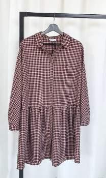 Livthelabel livthelabel - Multicolor Polyester Tartan Print Horta Shirt Dress - 0 | polyester