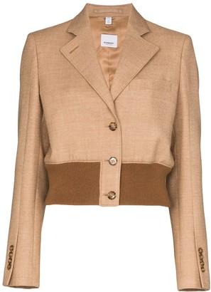 Burberry Sandrine cropped blazer