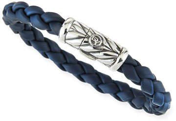 David Yurman Chevron Bracelet in Blue