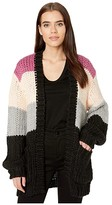 Volcom Knit List Cardigan (Multi) Women's Clothing