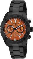 Invicta Specialty Black Strap Orange Dial Watch 17447