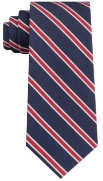 Tommy Hilfiger Men's Indigo Stripe Tie