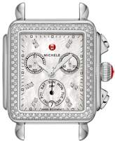 Michele Women's Deco Diamond Diamond Dial Watch Head, 33Mm X 35Mm