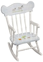 The Well Appointed House Child's Hand Painted Safari Animals Rocking Chair