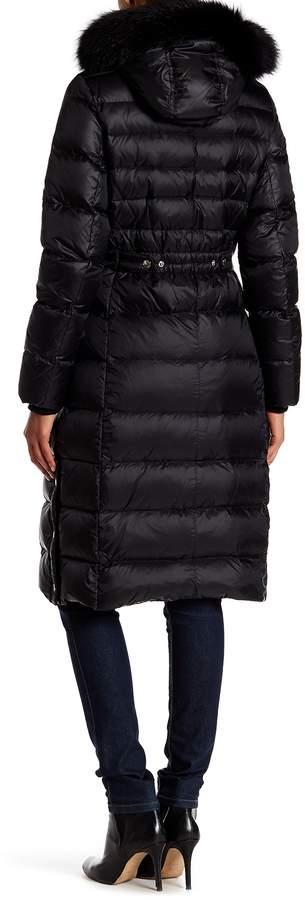 Andrew Marc Savannah Genuine Fox Fur Coat